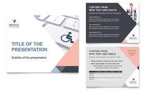 Medical Presentations Disability Medical Equipment Powerpoint Presentation Template Design