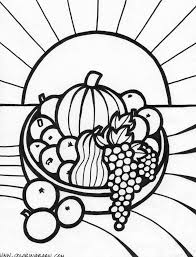 Small Picture Coloring Pages Of Fruits In A Bowl Coloring Pages