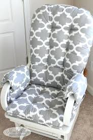 rocking chair covers custom cushions glider with arm rests large outdoor uk cushion
