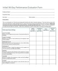 How To Create An Employee Evaluation Form Employee Evaluation Form Templates Free Best Of Sample Appraisal