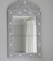 bone inlay mirror mirror shape