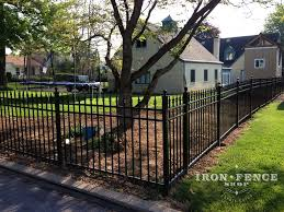 our infinity aluminum fence can easily be installed by the average do it yourselfer