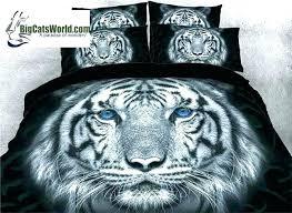 tiger comforter white tiger bedding sets tigers comforter white tiger face print photographic image comforter set
