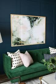 White Sofa Living Room 17 Best Ideas About Dark Green Couches On Pinterest Lights For