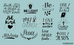 Love One Another Quotes Set of 100 Hand lettering christian quotes Only Jesus Love one 53