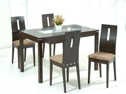 dining room sets with glass table tops dining room furniture round glass top dining table
