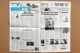 For example, tabloids may include serious political coverage, while quality newspapers may contain. Philippine Daily Inquirer Fonts In Use