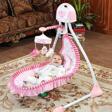 piece free blue luxury baby cradle swing electric baby rocking chair chaise lounge cradle seat rotating baby bouncer swing us 249 00