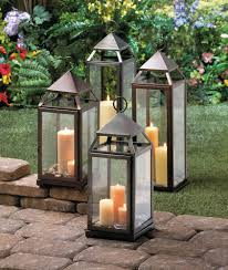 candle lantern lanterns decorative candles for black large lanterns set of 5 rustic wood frame monticello candle intended for outdoor lantern plan 15