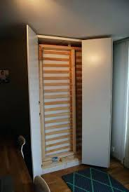 closet bed behind ikea room