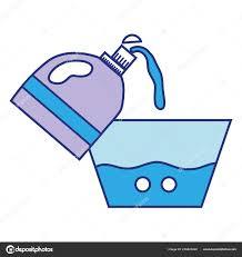 Softener Design Water Pail Design Softener Bottle Plashing Vector
