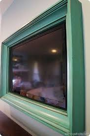 two way mirror tv frame diy beautiful this is a neat more appealing way of displaying