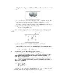 Venn Diagram Math Worksheets Venn Diagram Cardinality Shopnext Co