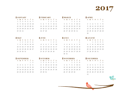 yearly calendar 2017 template download horizontal 2017 year calendar calendar templates free