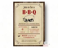 Barbeque Invitation Bbq Invitation Printable Bbq Invite Barbeque Invitation Etsy