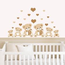 amazing teddy bear wall stickers baby good b is for bear wall decals on nursery wall art stickers ebay with kids wall stickers ebay gallery home design wall stickers