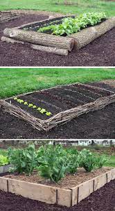 raised vegetable garden bed ideas