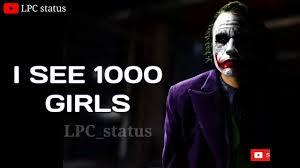 Joker Love Whatsapp Status Video Download