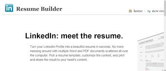... Peachy Ideas Resume Builder Linkedin 13 Linkedin Resume BuilderFree  Samples And Writing Guides For ...