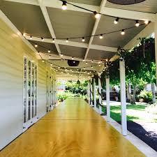 verandah lighting. 50m Festoon Over Banquet Tables On Verandah Lighting B
