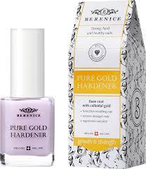 BERENICE <b>Укрепляющее средство для</b> ногтей с золотом Pure ...