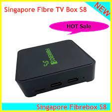 2020 Best and latest smart tv box fibre tv box S8 for Singapore starhub tv  box 1GB 16GB media player ps v8 golden v9super Set-top Boxes