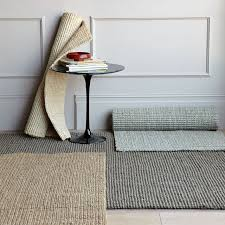 chunky wool and jute rug grayivory pottery barn with regard to grey jute rug plan