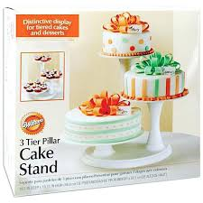 Plate Display Stands Michaels Wilton Cake Plates 100 Tier Pillar Stand Off White Michaels peukle 44