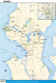 printable travel maps of washington state best map of seattle