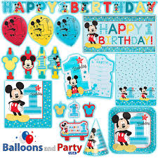 disney mickey mouse fun one 1st birthday party tableware decorations supplies