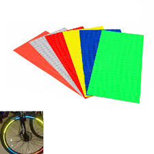 Sticker Light For Cycle Bike Bicycle Wheel Rims Reflective Stickers Luminous