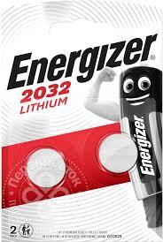 Купить <b>Батарейки Energizer</b> Miniatures Lithium <b>CR2032</b> 2шт с ...