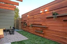modern wood fence designs diy horizontal