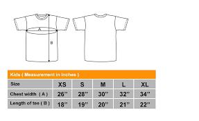 Size Chart Sin Mue Mue Pte Ltd