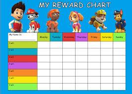 Paw Patrol Star Chart Printable Bedowntowndaytona Com