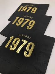 Pin by Carol Ishida on Husband/Dad | 40th birthday napkins, 40th birthday  party decorations, Birthday napkins