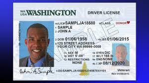 Driver And Wa License Cards - Identification Youtube New