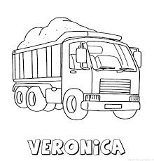 Veronica Naam Kleurplaten