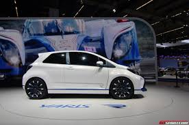 Frankfurt 2013: Toyota Yaris Hybrid R - GTspirit