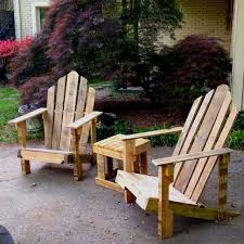 furniture out of wooden pallets. patio seating adirondack chairs and side table made from reclaimed pallet wood furniture out of wooden pallets u