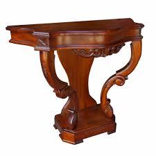 mahogany hall table. Victorian Side Table - Mahogany Hall
