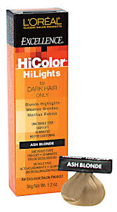 L Oreal Excellence Hicolor Cool Light Brown Hicolor Blonde Hilights Ash Blonde Permanent Creme Hair