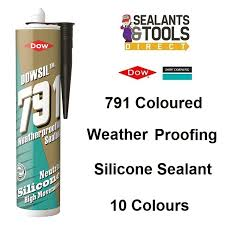 Dow Corning 791 Color Chart Dow Corning Dowsil 791 Weather Proofing Low Mod Silicone Sealant