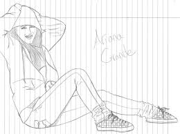 Small Picture 8 Pics Of Ariana Grande Coloring Pages To Print Ariana Grande