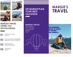 11x17 Trifold Template Brochure For Publisher Travel Template Microsoft Tri Fold