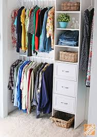 How to Build a Closet to Give You More Storage - The Home Depot. Diy Closet  Organization ...