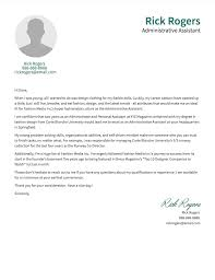 cover letter facts and examples · resume com cover letter example 3 administrative assistant