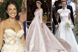 best celebrity wedding dresses of 2017 the brides who really