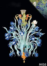 chandelier iris van gogh