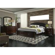 Liberty Furniture Arbor Place Sleigh Bedroom Set Liberty Furniture 5 Piece  King Faux Leather Storage Bedroom . Liberty Furniture Arbor Place Sleigh  Bedroom ...